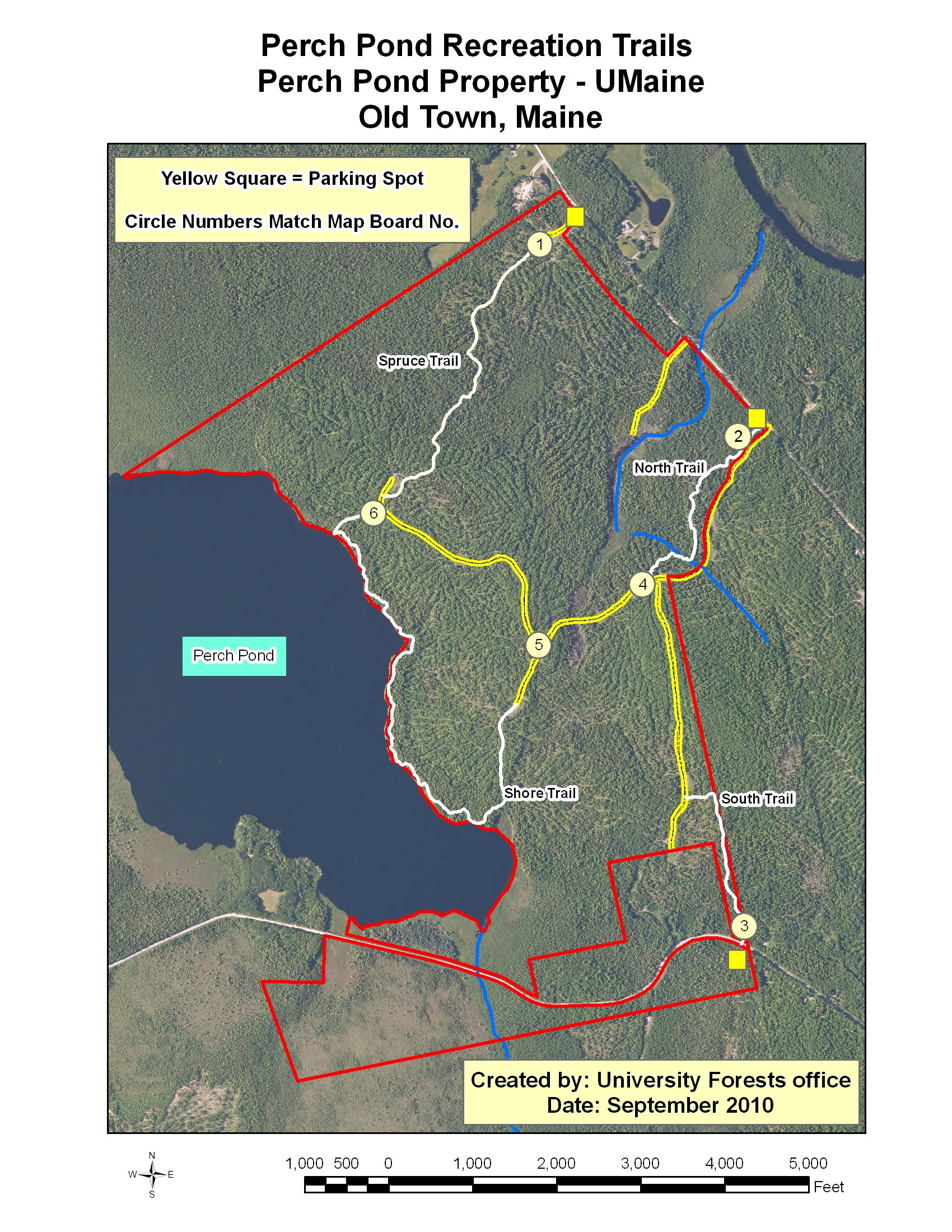 Trails & Visitor Info - School of Forest Resources